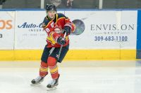 RIVERMEN FALL TO ICE FLYERS, 3-2 IN OVERTIME