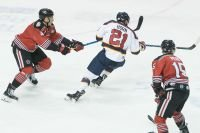 RIVERMEN HOLD ON FOR 4-3 WIN OVER THUNDER