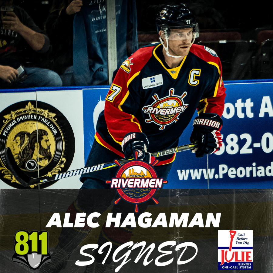 RIVERMEN ANNOUNCE SIGNING, RETIREMENT